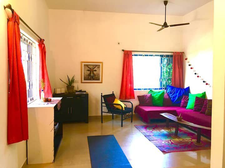 Family Apartments with Garden in Patnem