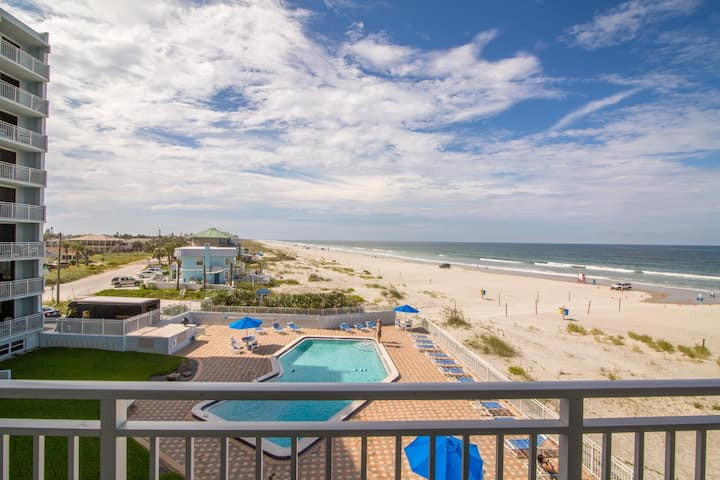 Charming Oceanfront Condo in Heart of NSB
