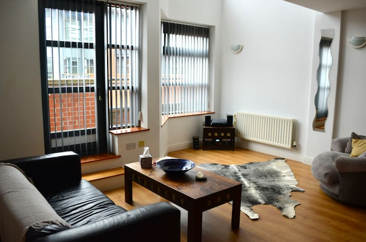 Spacious duplex apartment in Castlefield sleeps 4 - Manchester