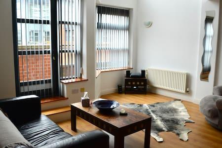 Spacious duplex apartment in Castlefield sleeps 4 - 曼徹斯特