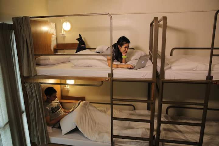 Pop-in Hostel - 6 beds Mixed Dorm