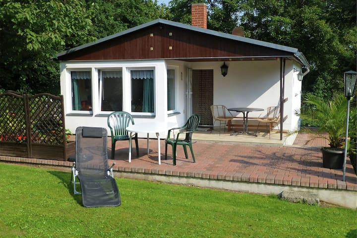 Cosy holiday home in Thale with terrace and sweeping grounds