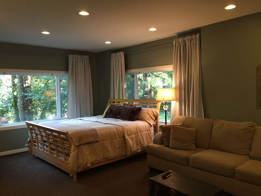 Master Suite .... views from every window!