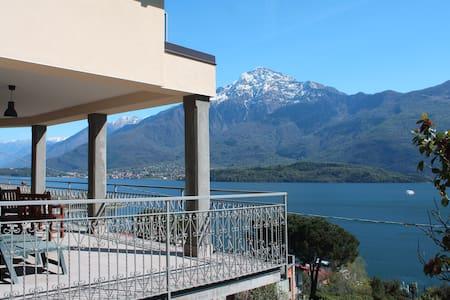 Amazing breathtaking ComoLake View - Domaso - 一軒家