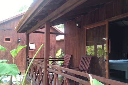 Authentic cosy khmer house + private terrace - Krong Siem Reap
