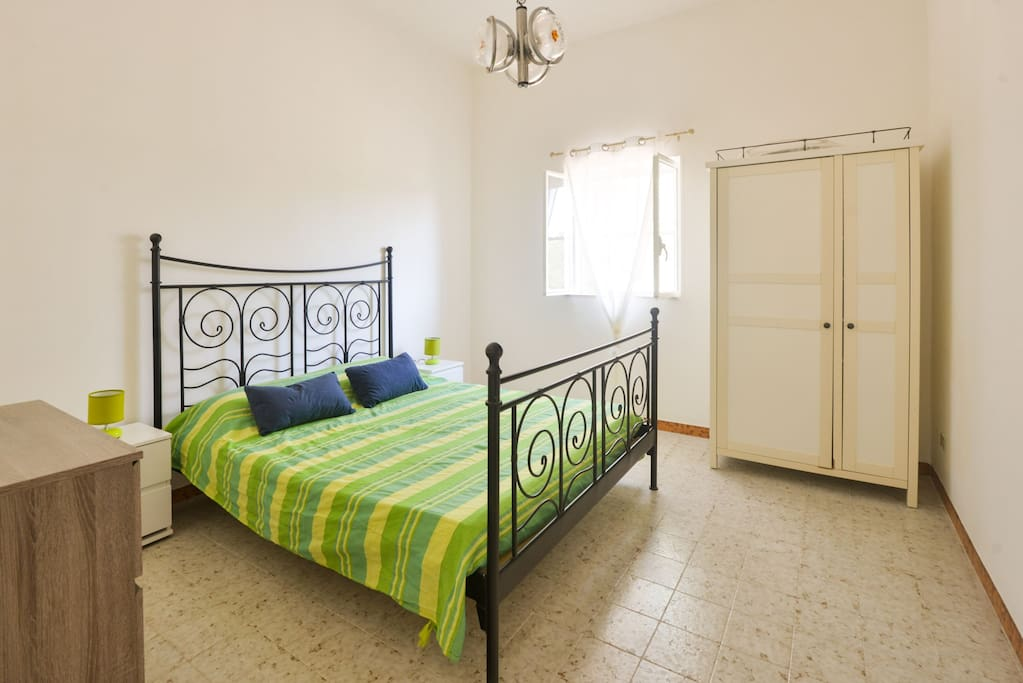 Spacious Master bedroom with very comfortable matress