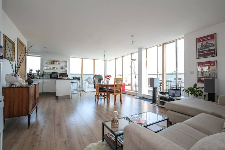 Bright and Spacious North London Room with a View