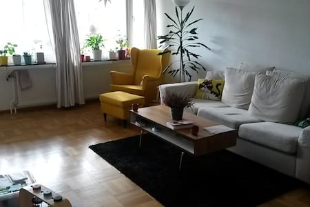 Light and spacious apartment in quiet & green area - Lund - 公寓