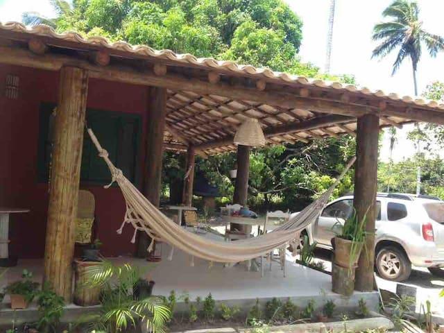 Tranquilidade e Natureza, próximo a Praia do Forte