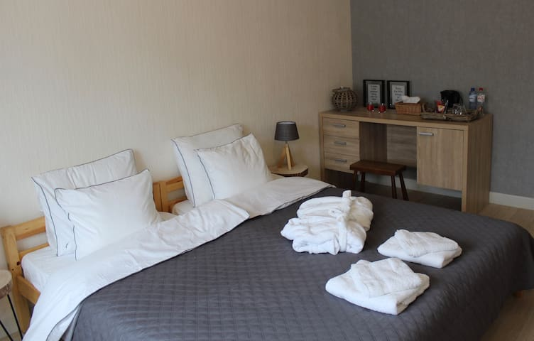 Charming Room 2p (€22/pp/night)