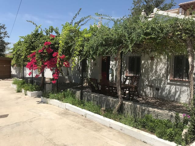 Beautiful original cortijo in Canillas de Albaida !  In the foot hills of Andalusia with the back drop of mount maroma .