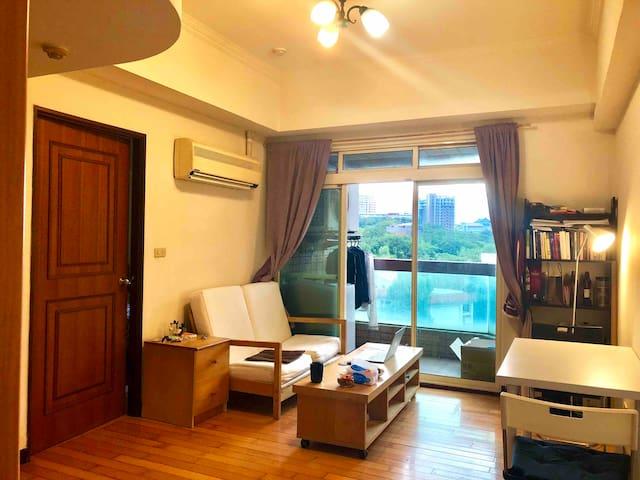 精品公寓 乾淨整潔舒適自在 還有美麗風景陪伴