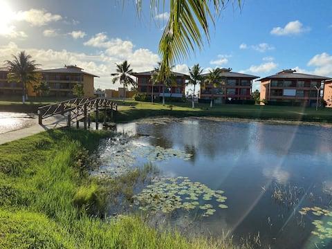 Apartamento Luxuoso  Cond Clube  Praia do Saco Se