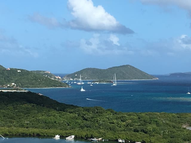 Tortola Super View Restful Loft East-End - East End Bay