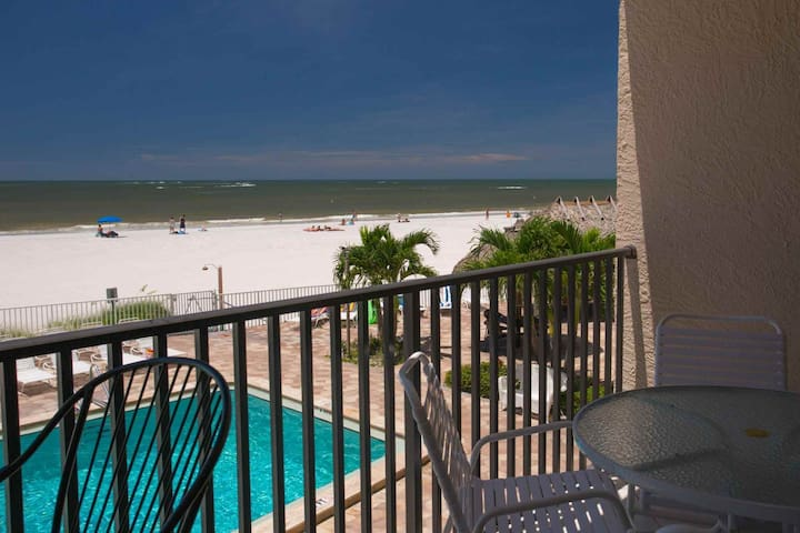 Oceanfront Condo with Private Balcony.  Fabulous Location in Madeira Beach.