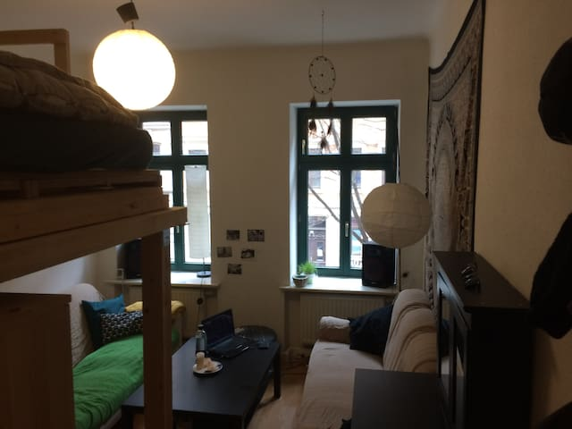 16sqm in lively multicultural East - Leipzig - Appartement
