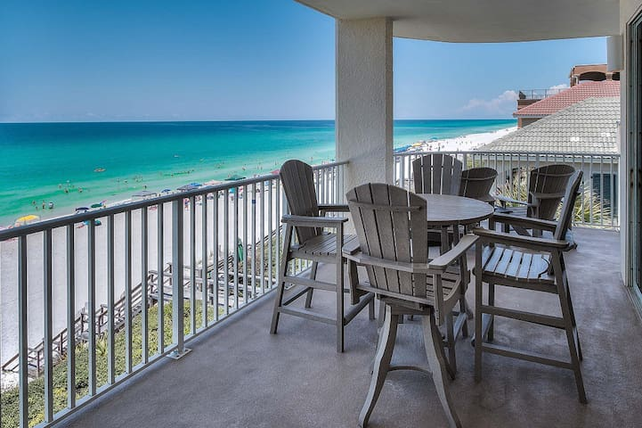 30A Gulf Front Vacation Rental - Панама-Сити-Бич