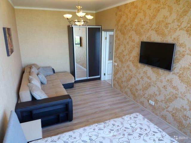 Классическая 2х квартира с чудесным видом на море! - Kabardinka - Flat