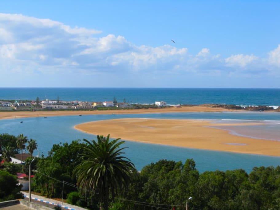 Superbe villa villas for rent in oualidia doukkala abda for Airbnb marrakech