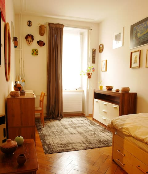 Beautiful bedroom in the heart of Basel