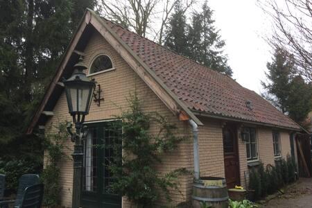Sfeervol vrijstaand huis rechtstreeks aan het bos - Appelscha - Σπίτι