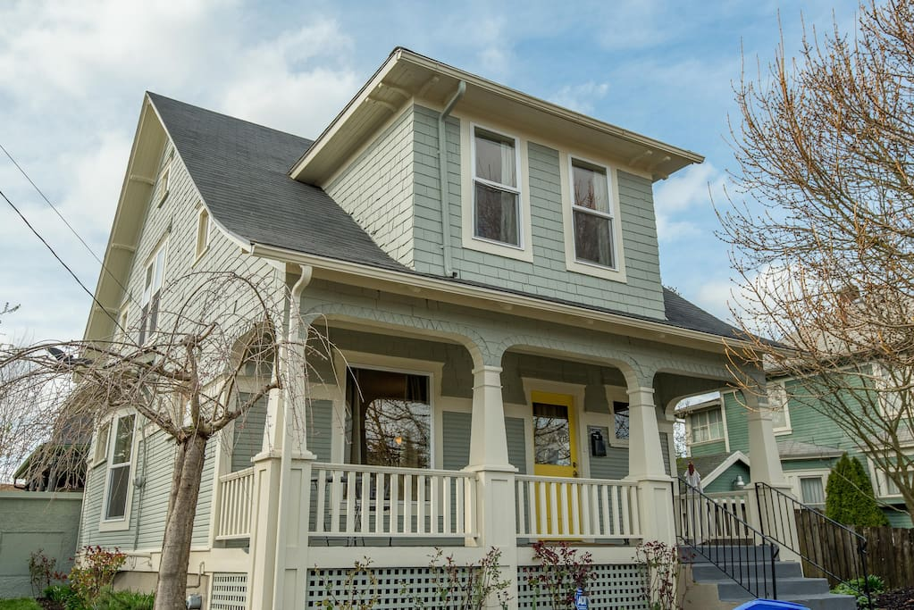 Our quintessentially Portland home in a very walkable neighborhood close to shops and restaurants