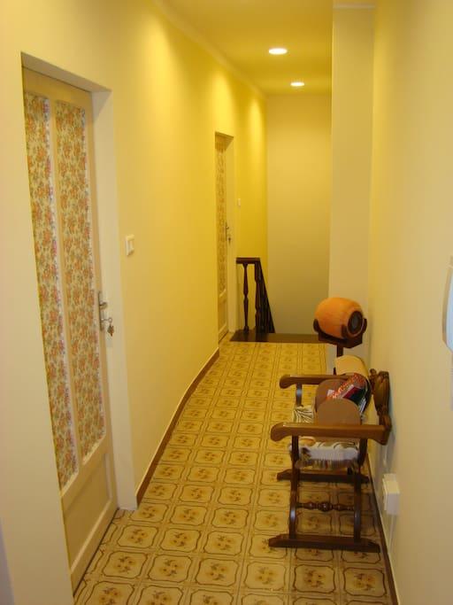 Ingresso area riservata agli ospiti