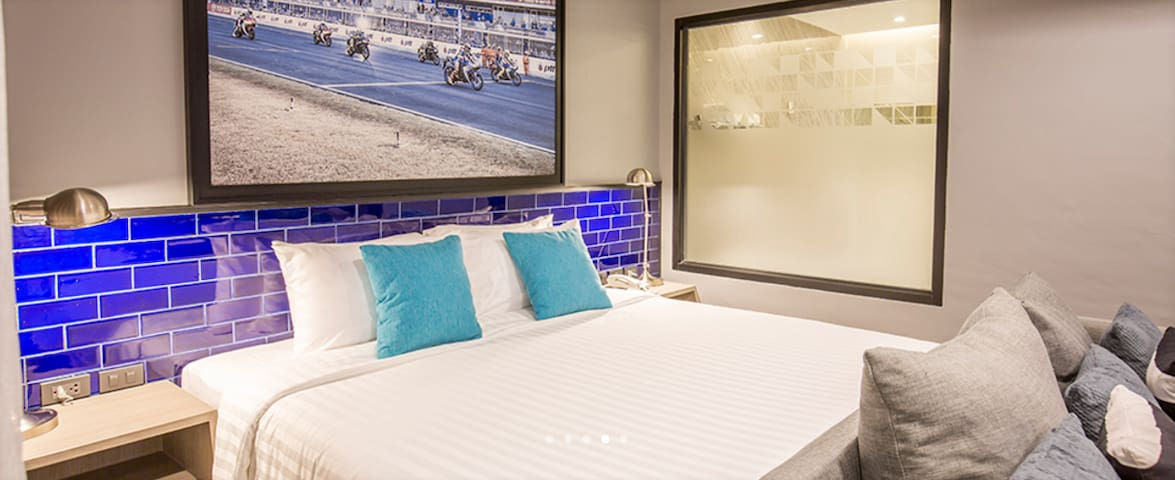Modern Grand Deluxe Twin – Pool Access Buriram - Boutique-hotelli