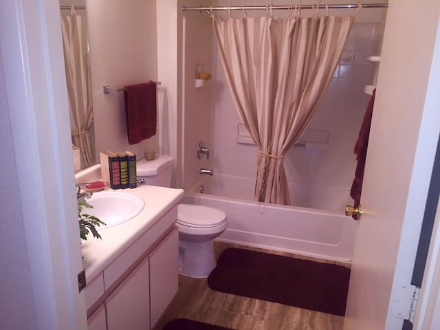 Comfortable and incredibly private 1 bedroom Suite