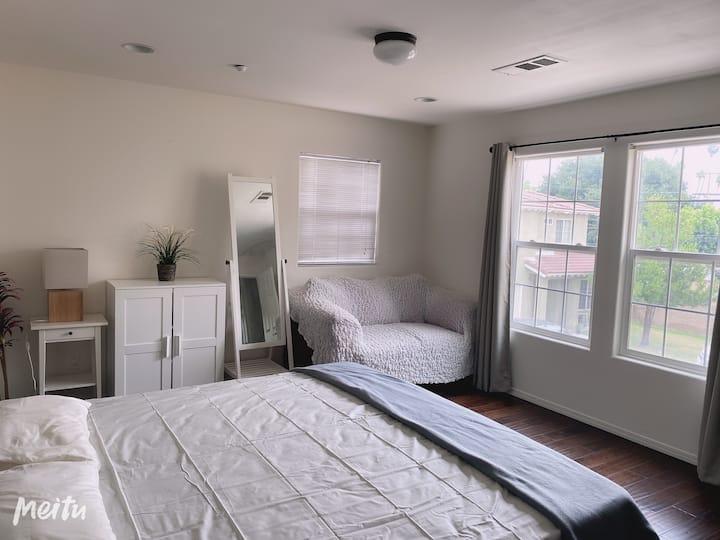 Alhambra华人区市中心大套房 comfort bed with private bath