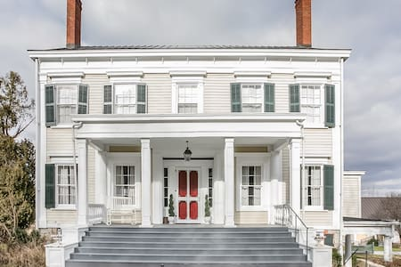 Kick Back on the Porch at a Restored Hudson Valley Mansion