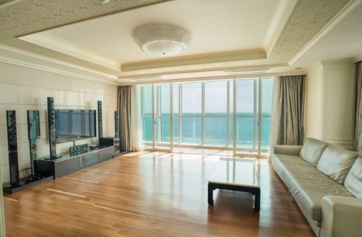 해운대 바다 앞 VIP 콘도(Haeundae beach Condominium, 234m²)