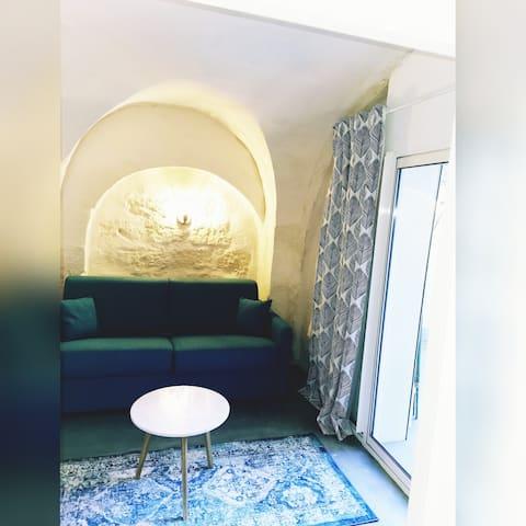 Appartement au cœur de la cité d'Aigues-Mortes.