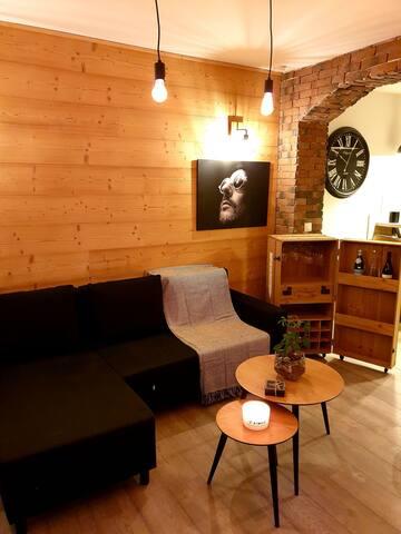 Studio neuf au bord du Lac Léman