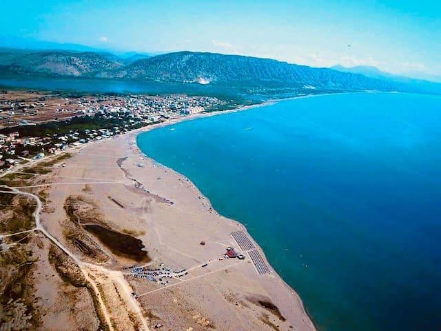 Amazing  views from velipoja beach