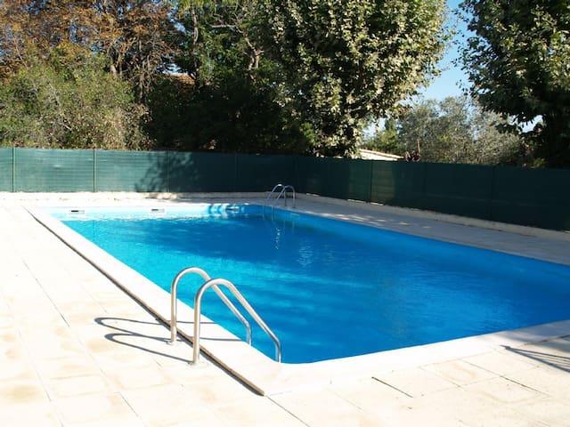 Studio-cabine, piscine, parking,plage Sérignan 5mn - Sérignan - Apartment
