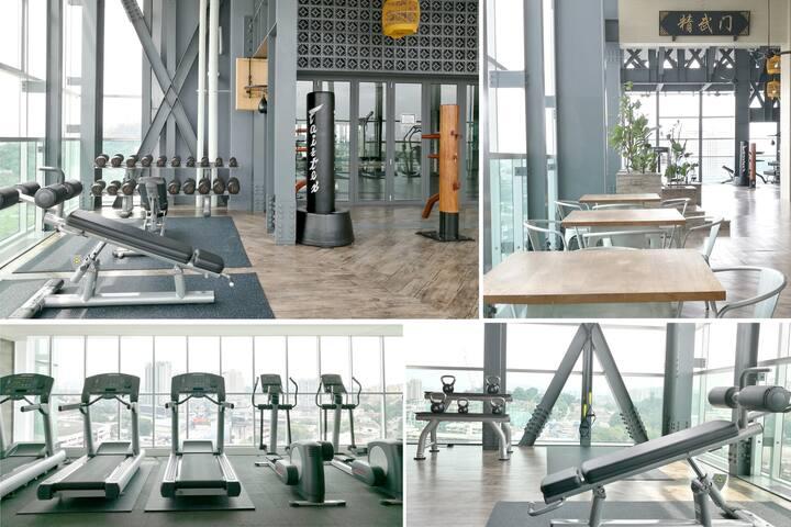 Lifestyle Facilities   Sky Gym & Combat Zone