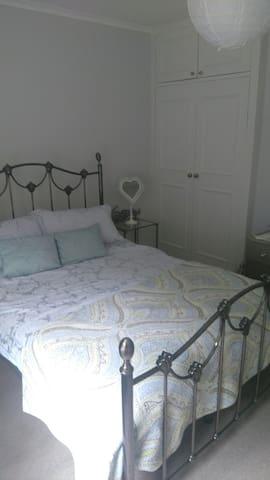 Restful sleep in a spacious bedroom