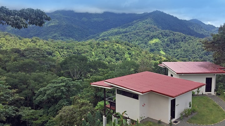 Cabina with amazing jungle views - Heliconia