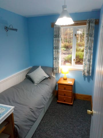 Single Bedroom with view to rear garden