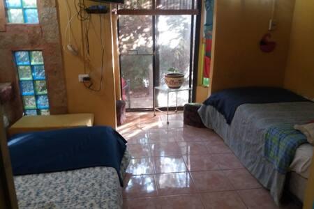 Casa de familia en el campo de Santiago de Chile