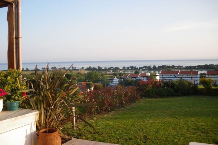 3 BD, Maisonette, Sea view, Shared pool - Pefkochori