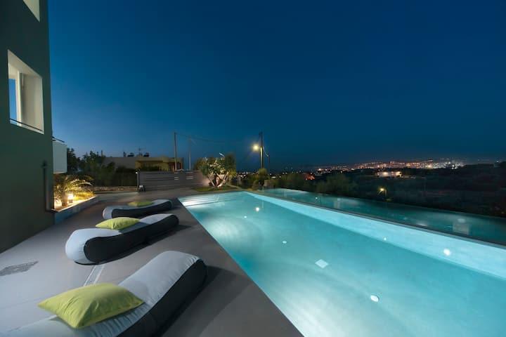 Andreas villa sea view & pool!