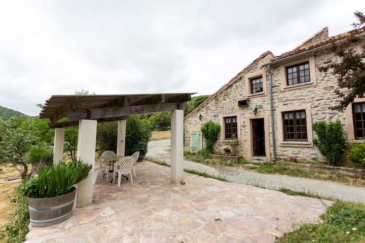 Gîte équestre sur propriété agricole - Le Pottock - Rieussec - Cabaña en la naturaleza