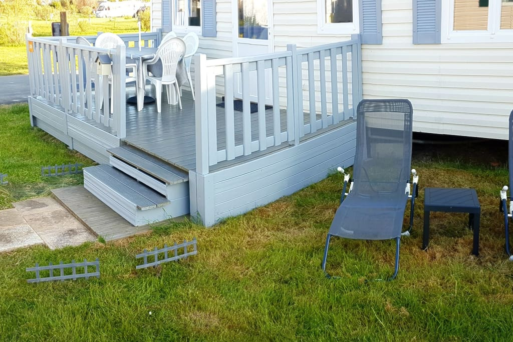 MobilHome n° 276 - Terrasse Face Droite