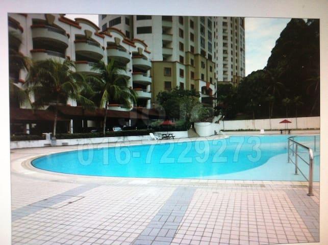 Aloha condo Super Master Bedroom - Johor Bahru - Apartment