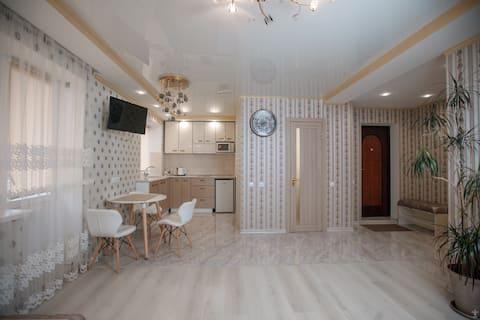 1-к Квартира Люкс , центр Преображенская,8
