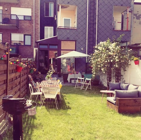 Charming appartement with garden! - Antwerpen - Apartmen