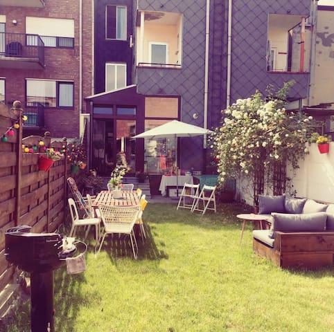 Charming appartement with garden! - Antwerpen