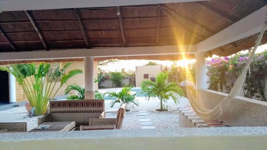Villa tout confort au calme dans le Siné Saloum